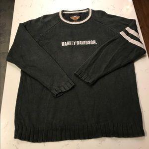 Harley Davidson Sweaters Vintage Harley Davidson Cotton Blend Knit